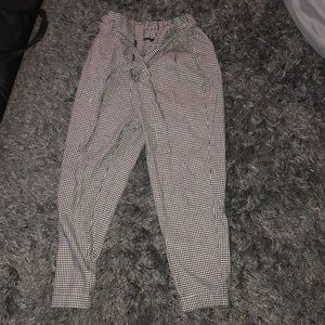 Forever 21 Gingham Style Pants